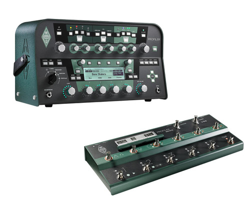 Kemper Profiler Head and Remote Bundle - Black