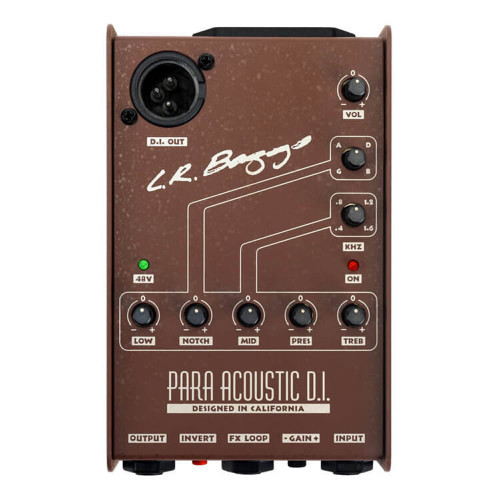 LR Baggs Para DI Acoustic Guitar Preamp and DI