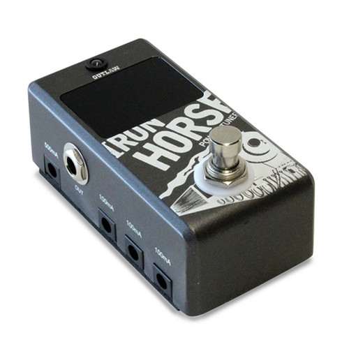 Outlaw Effects Iron Horse Pedal Tuner + Power Supply