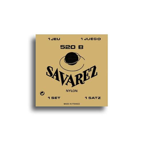 Savarez 520B Traditional Low Tension Classical Guitar String Set