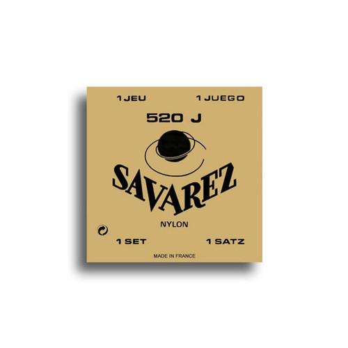 Savarez 520J Traditional High Tension Classical Guitar String Set