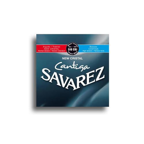 Savarez 510CRJ New Cristal Cantiga Mixed Tension Classical String Set