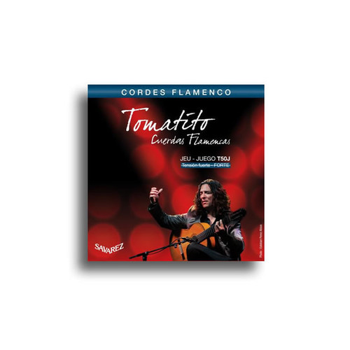 Savarez T50J Tomatito High Tension Flamenco Classical String Set