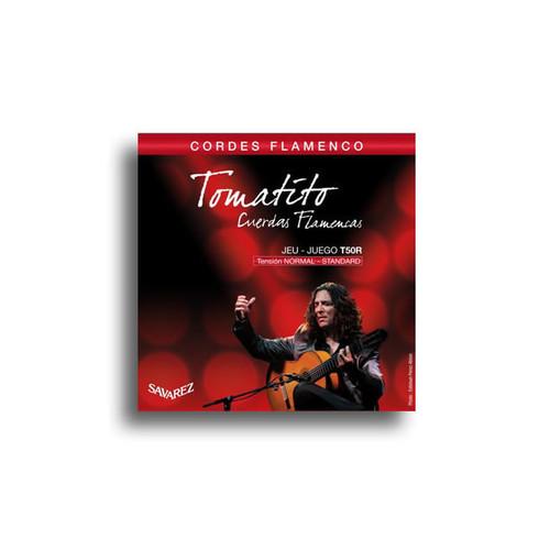 Savarez T50R Tomatito Normal Tension Flamenco Classical Guitar Set