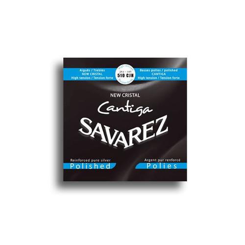 Savarez 510CJH New Cristal Cantiga Polished High Tension Classical Set