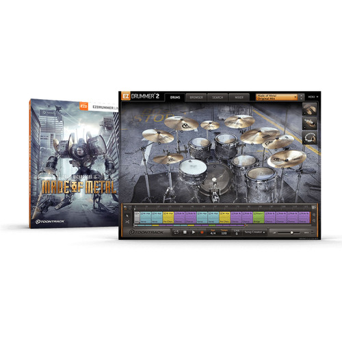 ToonTrack Made of Metal EZX Expansion Pack
