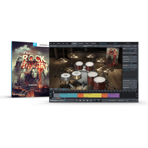 ToonTrack The Rock Foundry SDX Expansion Pack