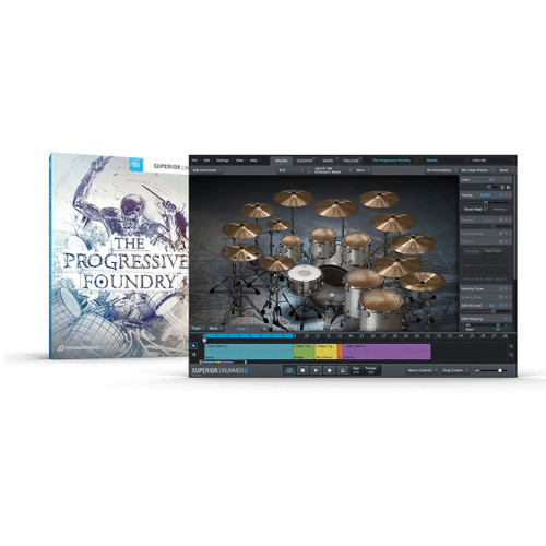 ToonTrack The Progressive Foundry SDX Expansion Pack