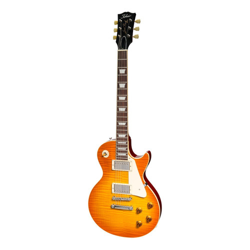 Tokai 'Vintage Series' LS-136F Flame Top LP-Style Electric - Violin Finish