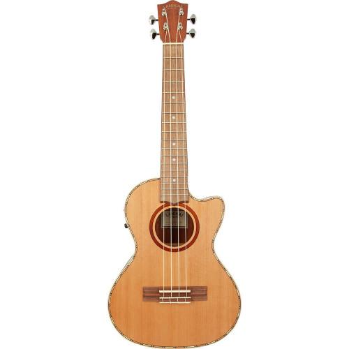 Lanikai Cedar Series Tenor Acoustic/Electric Ukulele