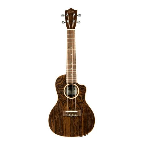 Lanikai Figured Bocote Thinbody Concert Acoustic/Electric Ukulele