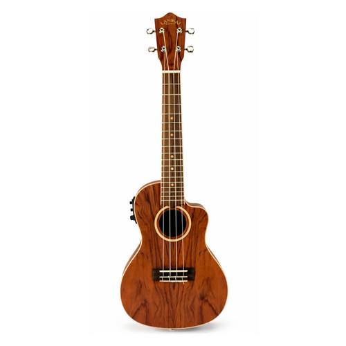 Lanikai Bubinga Series Concert Acoustic/Electric Ukulele