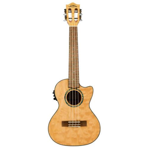 Lanikai Quilted Maple Natural Tenor Acoustic/Electric Ukulele