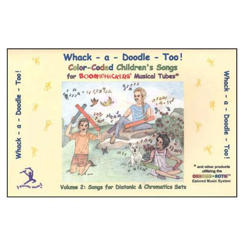 "Boomwhackers ""Whack A Doodle Too"" Book Only"