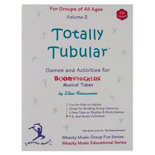 "Boomwhackers ""Totally Tubular Volume 2"" Book/CD"