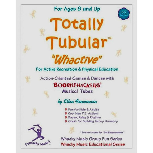 "Boomwhackers ""Totally Tubular Whactive"" Book/CD"