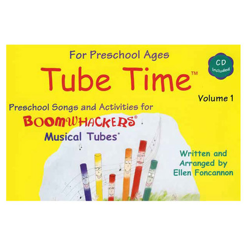 "Boomwhackers ""Tube Time Volume 1"" Book/CD"