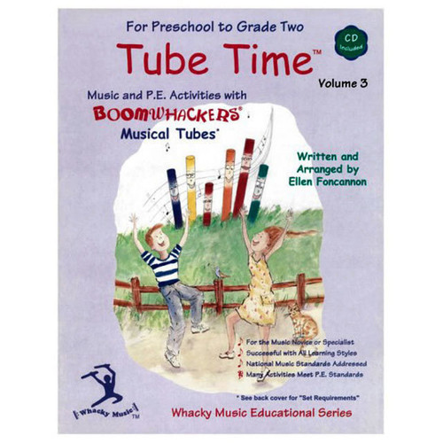 "Boomwhackers ""Tube Time Volume 3"" Book/CD"