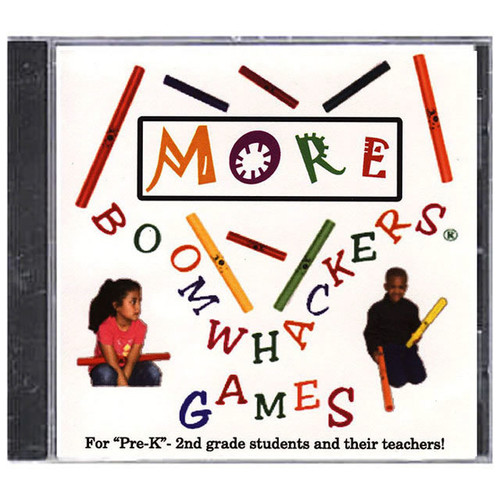 "Boomwhackers ""More Boomwhacker Games"" CD Only"
