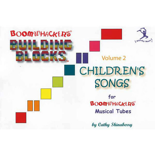 "Boomwhackers ""Building Blocks Childrens Songs Volume 2"" Book Only"