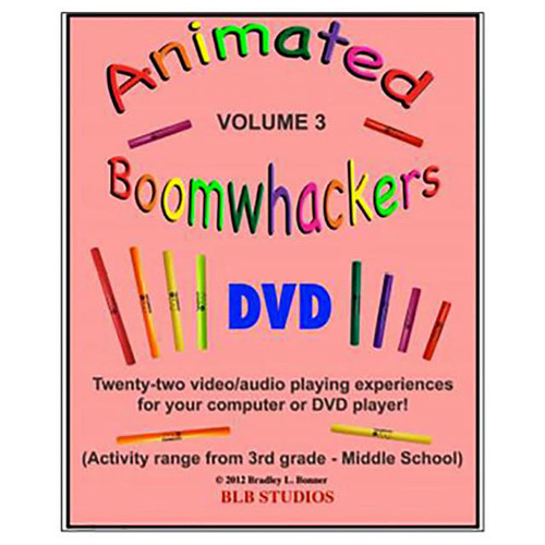 "Boomwhackers ""Animated Boomwhackers Volume 3"" DVD Only"
