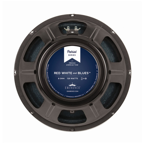 "Eminence Red, White and Blues™ 12"" 120W Speaker"