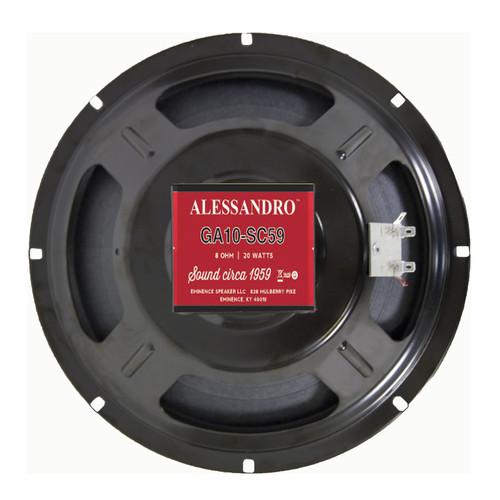 "Eminence GA10-SC59 George Alessandro 10"" 25W Speaker"
