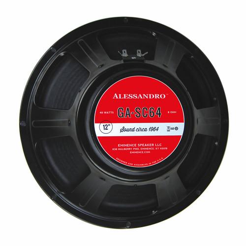 "Eminence GA-SC64 George Alessandro 12"" 40W Speaker"