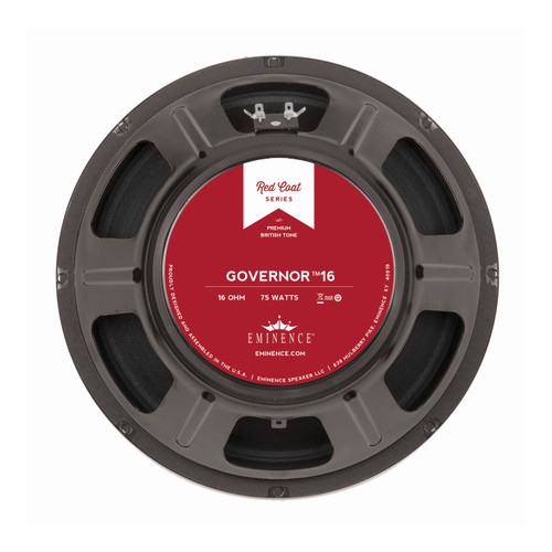 "Eminence The Governor™ 16 12"" 75W Speaker"