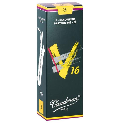 Vandoren V16 Baritone Saxophone Reeds - Box of 5