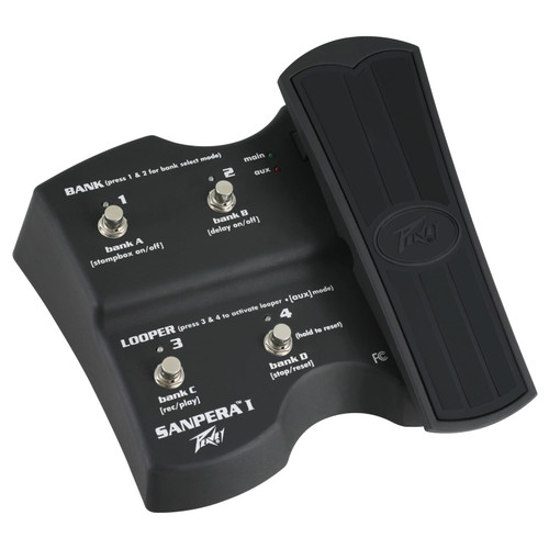 Peavey Sanpera I Vypyr VIP Series Foot Controller Pedal