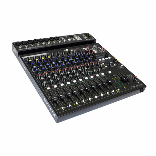 Peavey PV® 14AT 14 Channel Mixer with Bluetooth and Antares® Auto-Tune