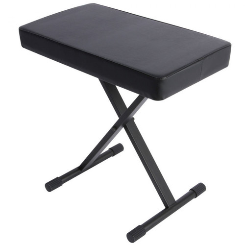 On-Stage Stands KT7800+ Deluxe X-Style Keyboard Bench