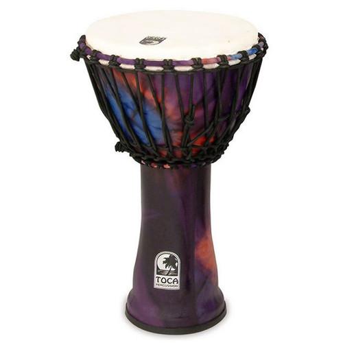"""Toca Freestyle 2 Series Djembe 10"""" in Woodstock Purple"""