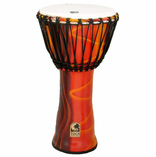"""Toca Freestyle 2 Series Djembe 12"""" in Kente Cloth"""