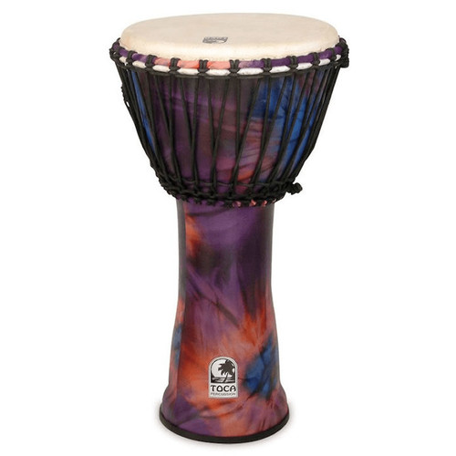 """Toca Freestyle 2 Series Djembe 12"""" in Woodstock Purple"""