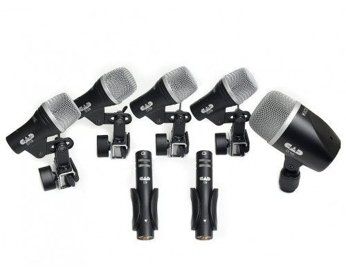 CAD Stage7 7-piece Drum Microphone Pack