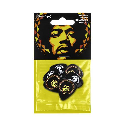 Jim Dunlop Jimi Hendrix™ '69 Psych Series Aura Mandala Pick Pack