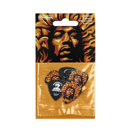 Jim Dunlop Jimi Hendrix™ '69 Psych Series Voodoo Fire Pick Pack