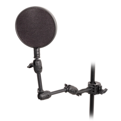 "Xtreme Professional 6"" Dual Screen Microphone Pop Filter"