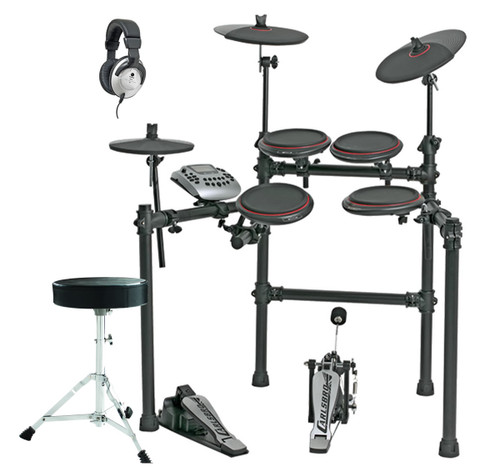 Carlsbro CSD180 5 Piece Kit with Stool and Headphones