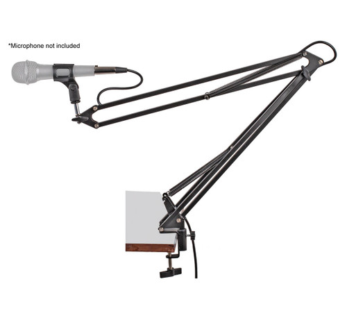 Xtreme MA350 Desk Mount Microphone Boom Arm with XLR cable