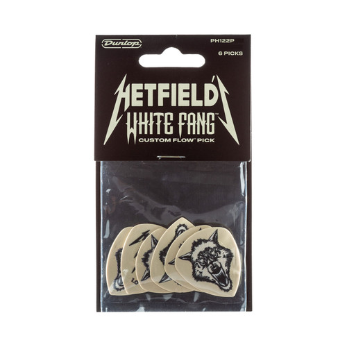 Jim Dunlop James Hetfield .73mm White Fang™ Player's Pack