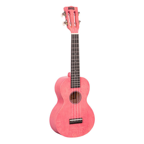 Mahalo Coral Pink Island Series Concert Ukulele