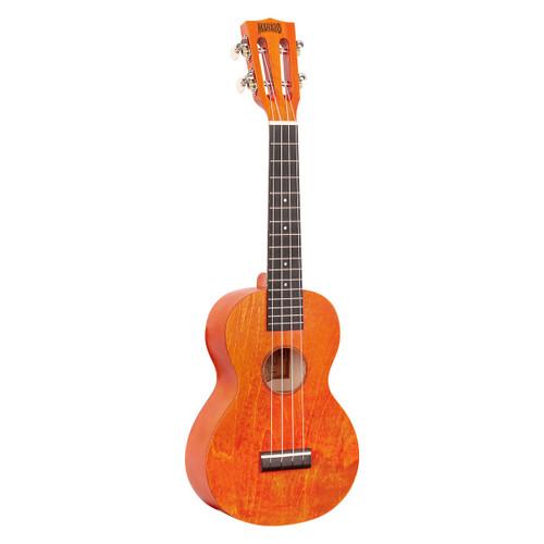 Mahalo Orange Sunset Island Series Concert Ukulele