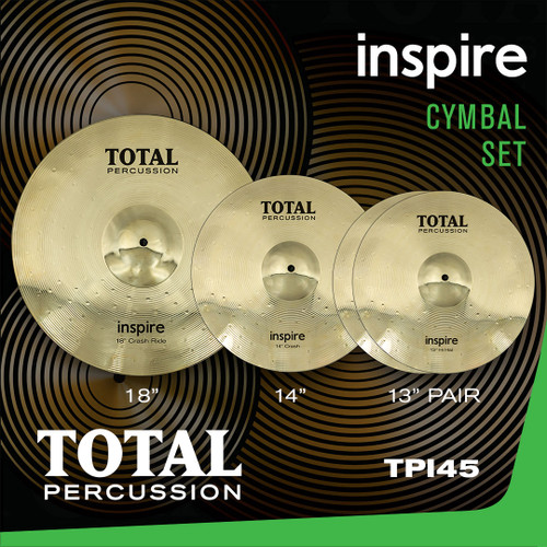 Total Percussion TPI45 Inspire Cymbal Set