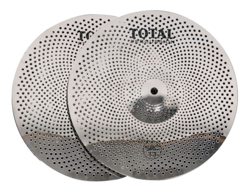 "Total Percussion 13"" Sound Reduction Hi-Hat Cymbal Pair"