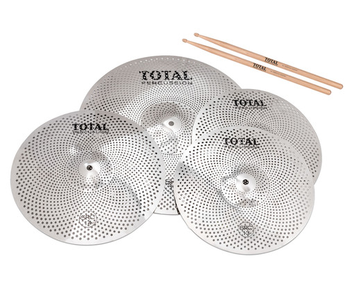 Total Percussion SRC45 Sound Reduction Cymbal Set