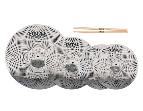Total Percussion SRC50 Sound Reduction Cymbal Set
