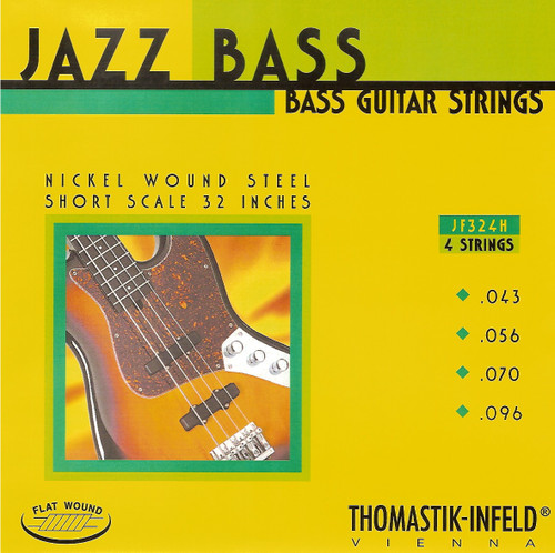 Thomastik Infled JF324H Beatle Bass Flatwounds